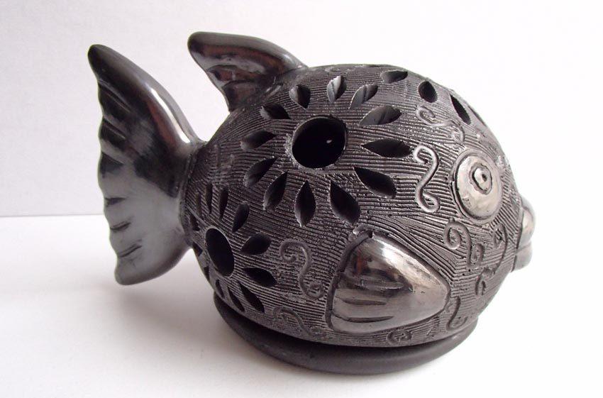 Độc đáo gốm đen Mexico -14