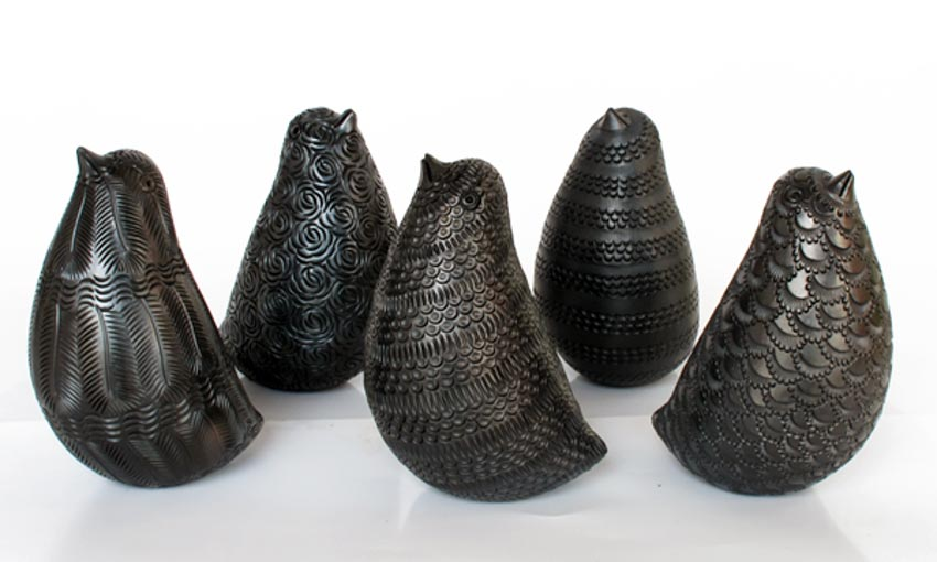 Độc đáo gốm đen Mexico -16