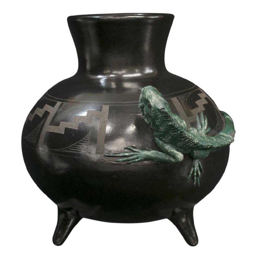 Độc đáo gốm đen Mexico -4