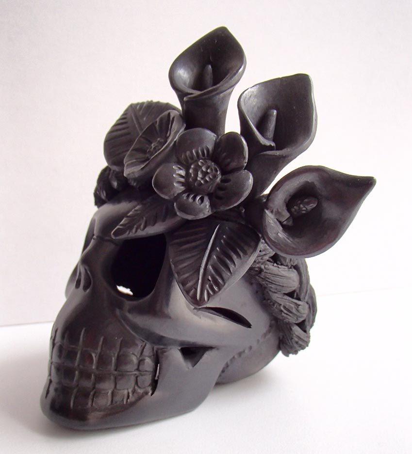 Độc đáo gốm đen Mexico -9