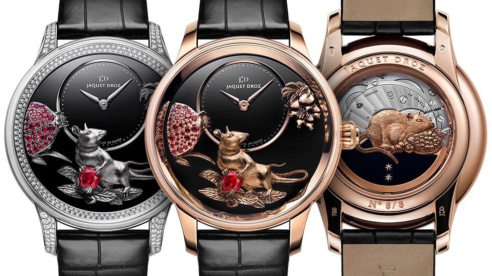8 mẫu đồng hồ mang hình chuột đặc sắc chào đón năm Canh Tý - 5
