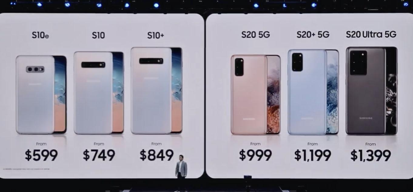 Samsung ra mắt Galaxy S20, S20+, S20 Ultra - 06
