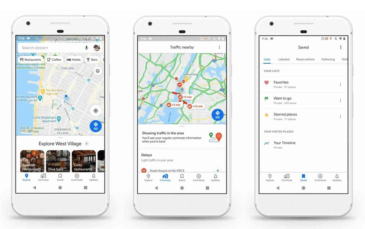 Google Maps bước sang tuổi 15, thay đổi giao diện và biểu tượng mới - 1