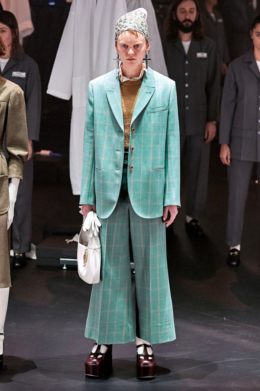 Show diễn BST Thu Đông 2020 gây ấn tượng của Gucci tại Milan Fashion Week - 11