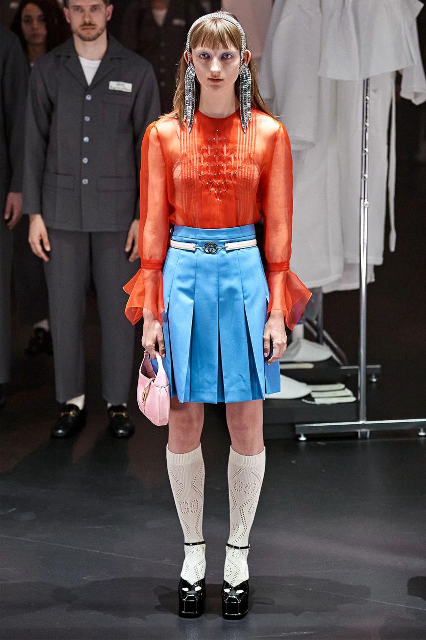 Show diễn BST Thu Đông 2020 gây ấn tượng của Gucci tại Milan Fashion Week - 13