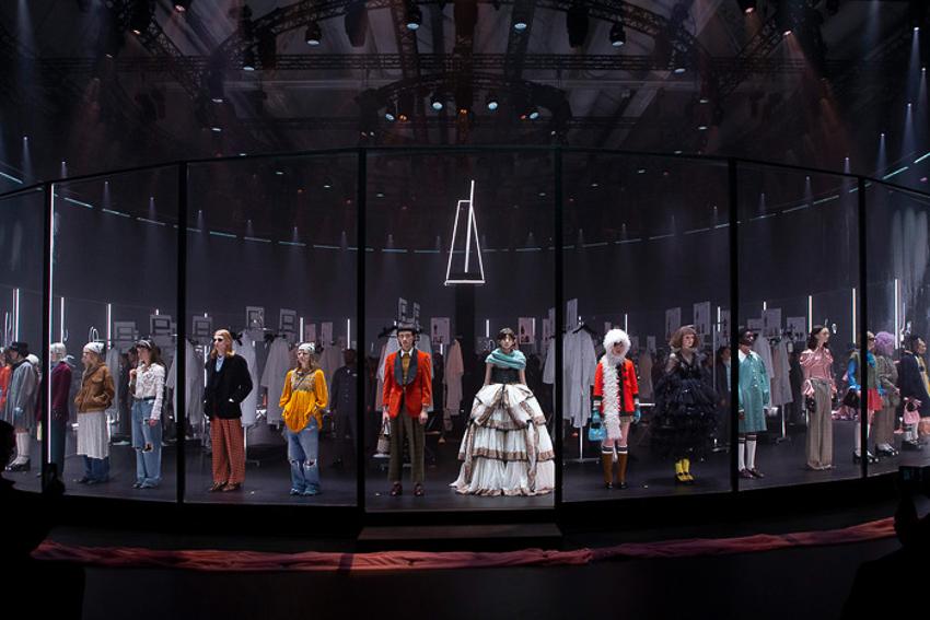 Show diễn BST Thu Đông 2020 gây ấn tượng của Gucci tại Milan Fashion Week - 2