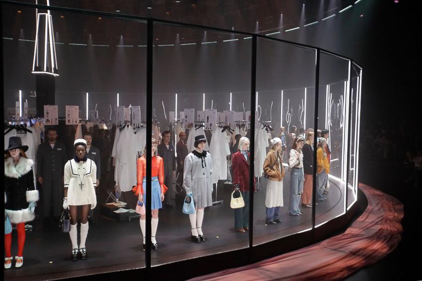 Show diễn BST Thu Đông 2020 gây ấn tượng của Gucci tại Milan Fashion Week - 6