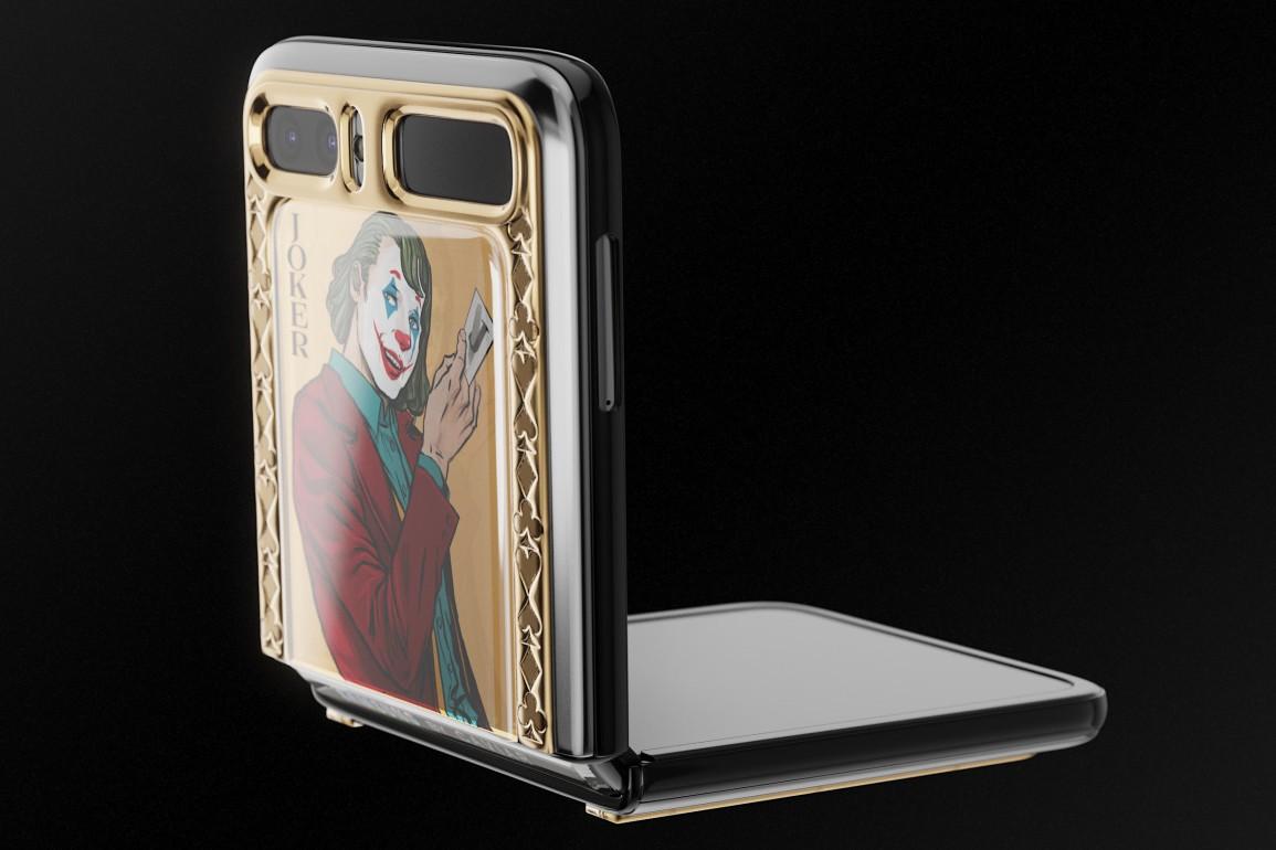 Samsung Galaxy Z Flip phiên bản Joker và Harley Quinn - 4
