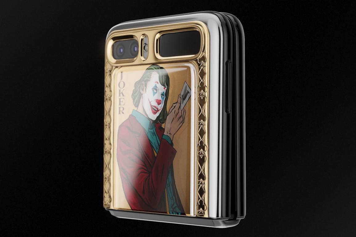 Samsung Galaxy Z Flip phiên bản Joker và Harley Quinn - 5