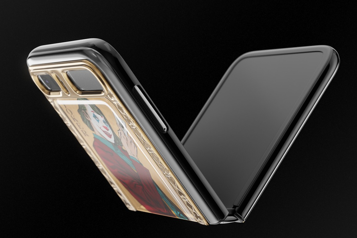 Samsung Galaxy Z Flip phiên bản Joker và Harley Quinn - 7