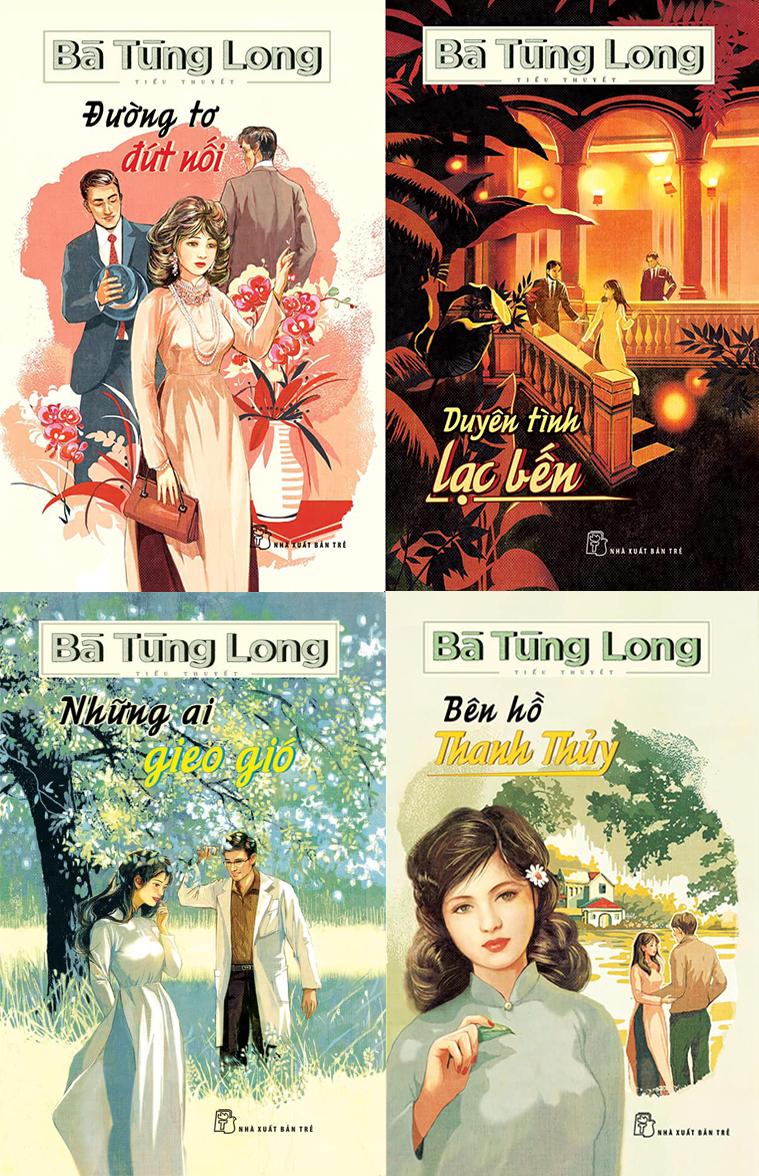 Nhà văn Bà Tùng Long và biệt tài viết tiểu thuyết feuilleton -1 -4