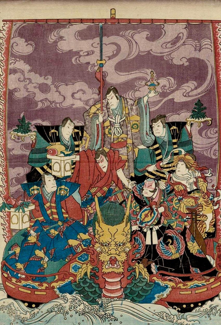 Những biểu tượng tài lộc ở Nhật Bản -3