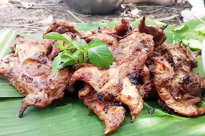 Món thịt chuột ở Dương Châu, Quảng Tây (Trung Quốc)