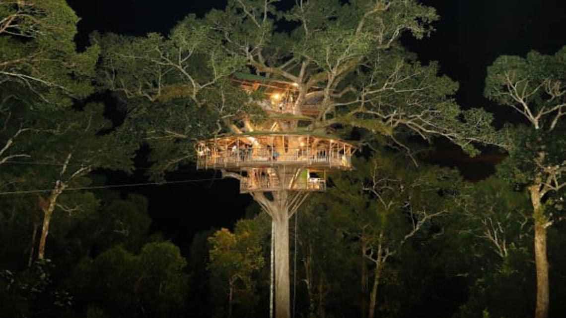 Thú vị với nhà trên cây ở Lào -8