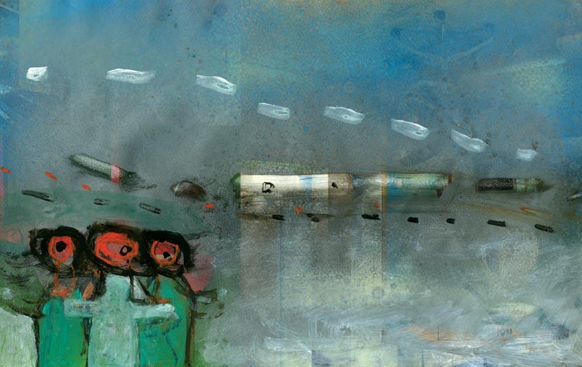 Truyện ngắn: Con tàu không sân ga -1