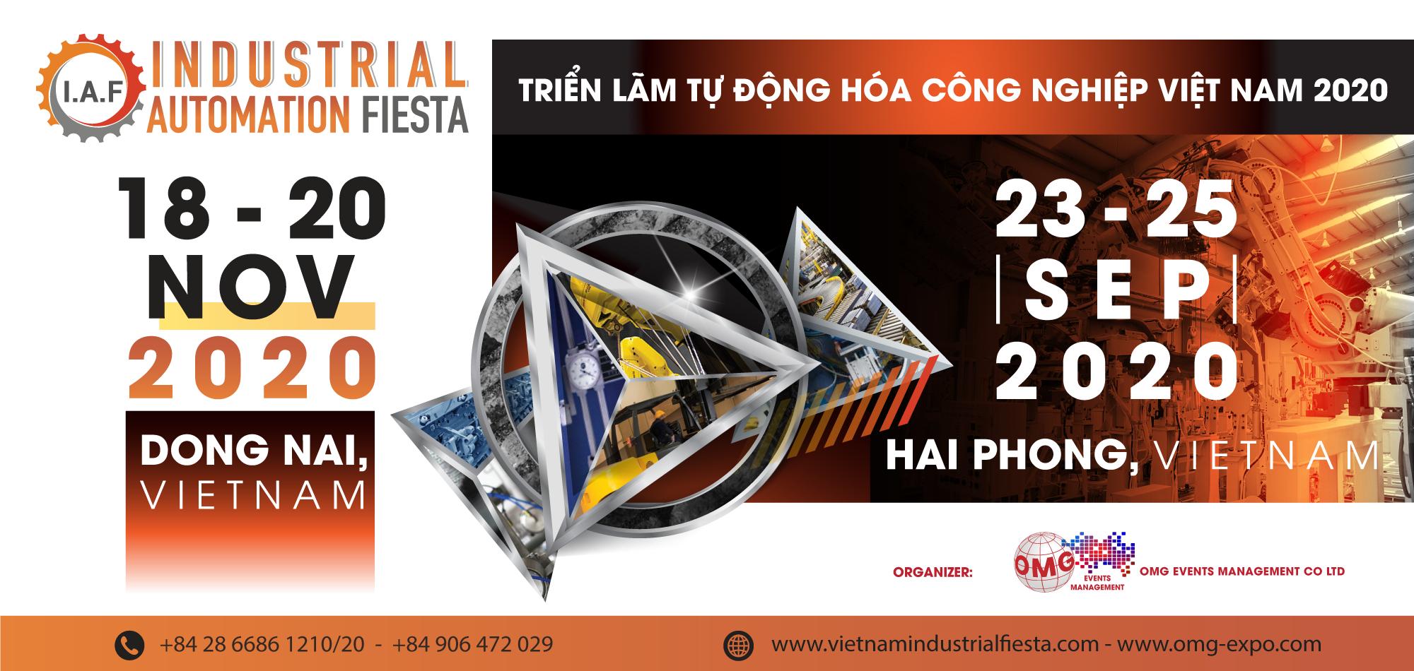 riển lãm Công nghiệp & Sản xuất Việt Nam 2020 tại Hải Phòng và Đồng Nai - 2