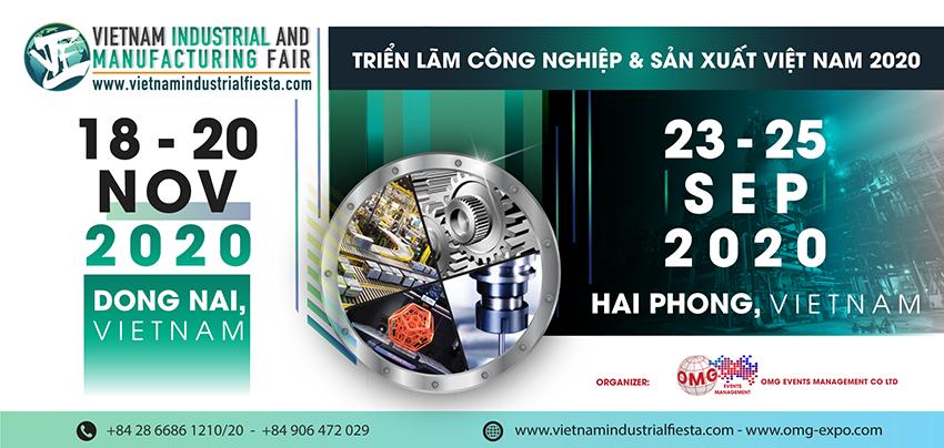 riển lãm Công nghiệp & Sản xuất Việt Nam 2020 tại Hải Phòng và Đồng Nai - 3