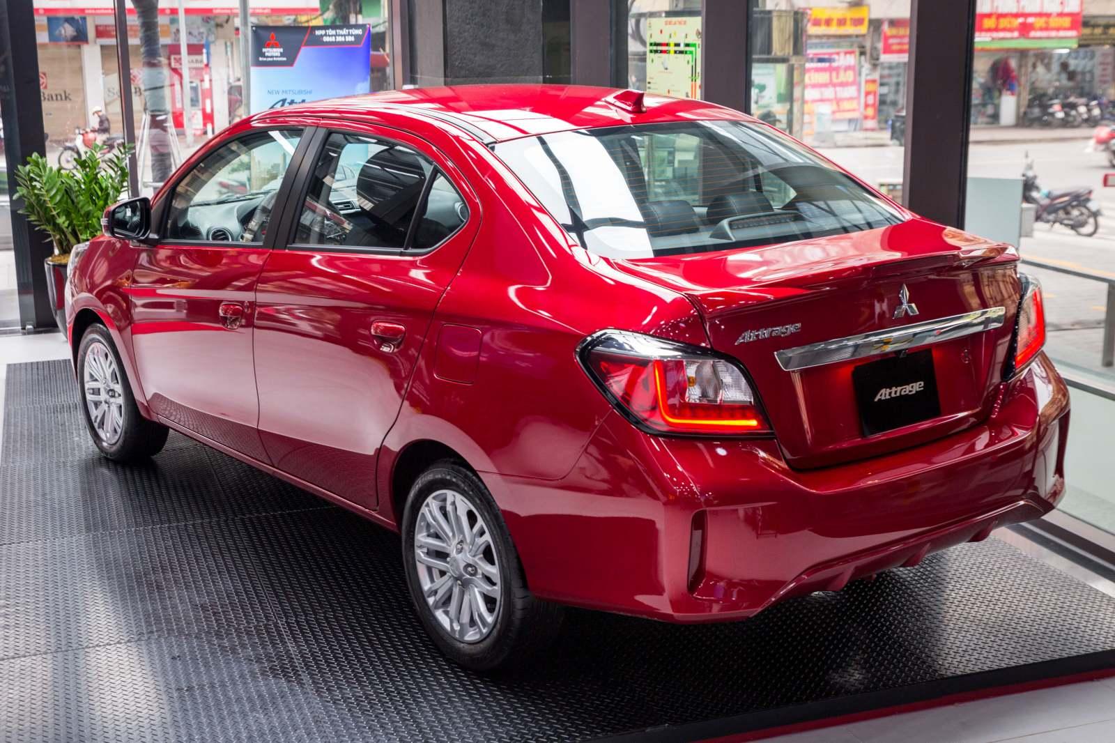 Mitsubishi Attrage 2020 ra mắt tại VN, giá từ 375 triệu - 2
