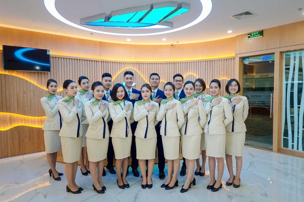 Phòng chờ hạng Thương gia của Bamboo Airways. - 2