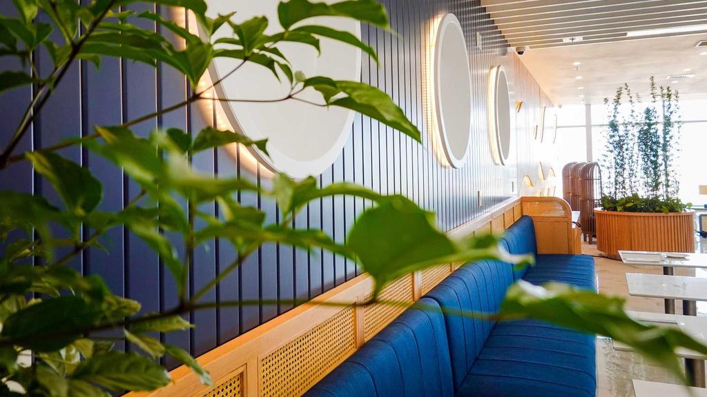 Phòng chờ hạng Thương gia của Bamboo Airways. - 4