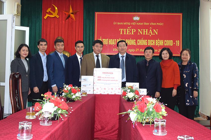 Honda Việt Nam chung tay cùng Chính phủ phòng chống dịch Covid-19 tại Việt Nam - 2