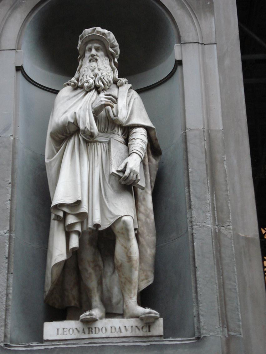 Sự uyên bác tạo nên sức sống nghệ thuật của Leonardo da Vinci - 02