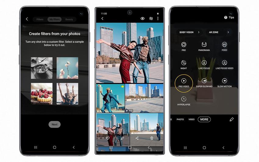 Samsung công bố loạt tính năng đột phá mới trên Galaxy S10 và Galaxy Note 10