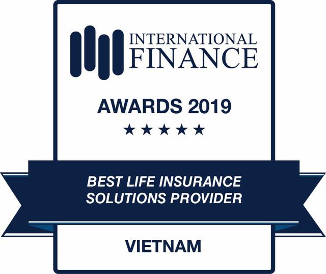 Sun Life Việt Nam nhận giải Công ty cung cấp giải pháp bảo hiểm nhân thọ uy tín 2019 - 2