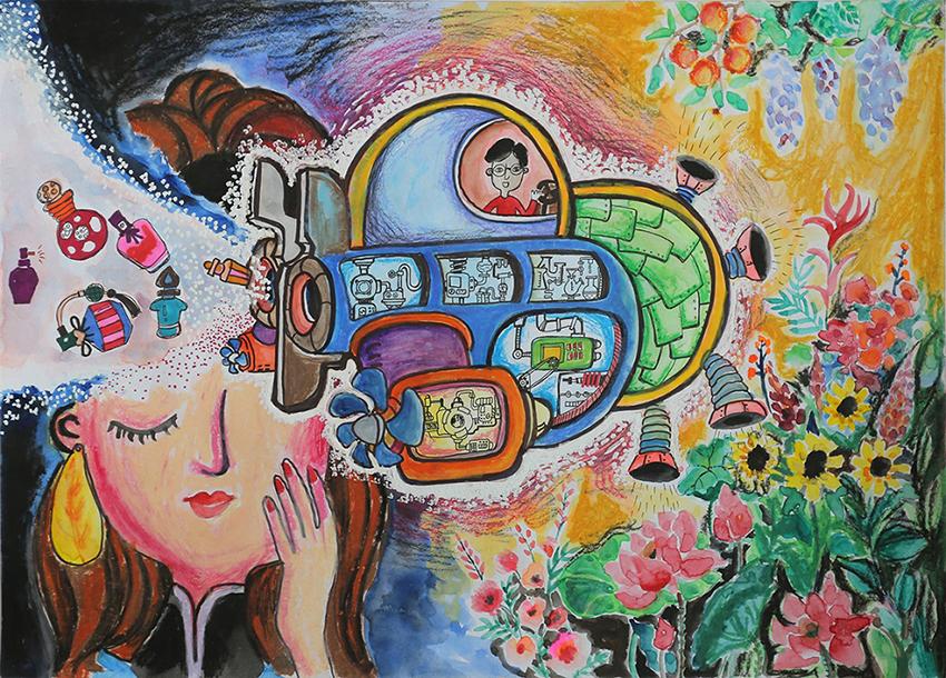 """Kết quả Cuộc thi vẽ tranh quốc tế """"Chiếc ô tô mơ ước"""" lần thứ 9 - 5"""