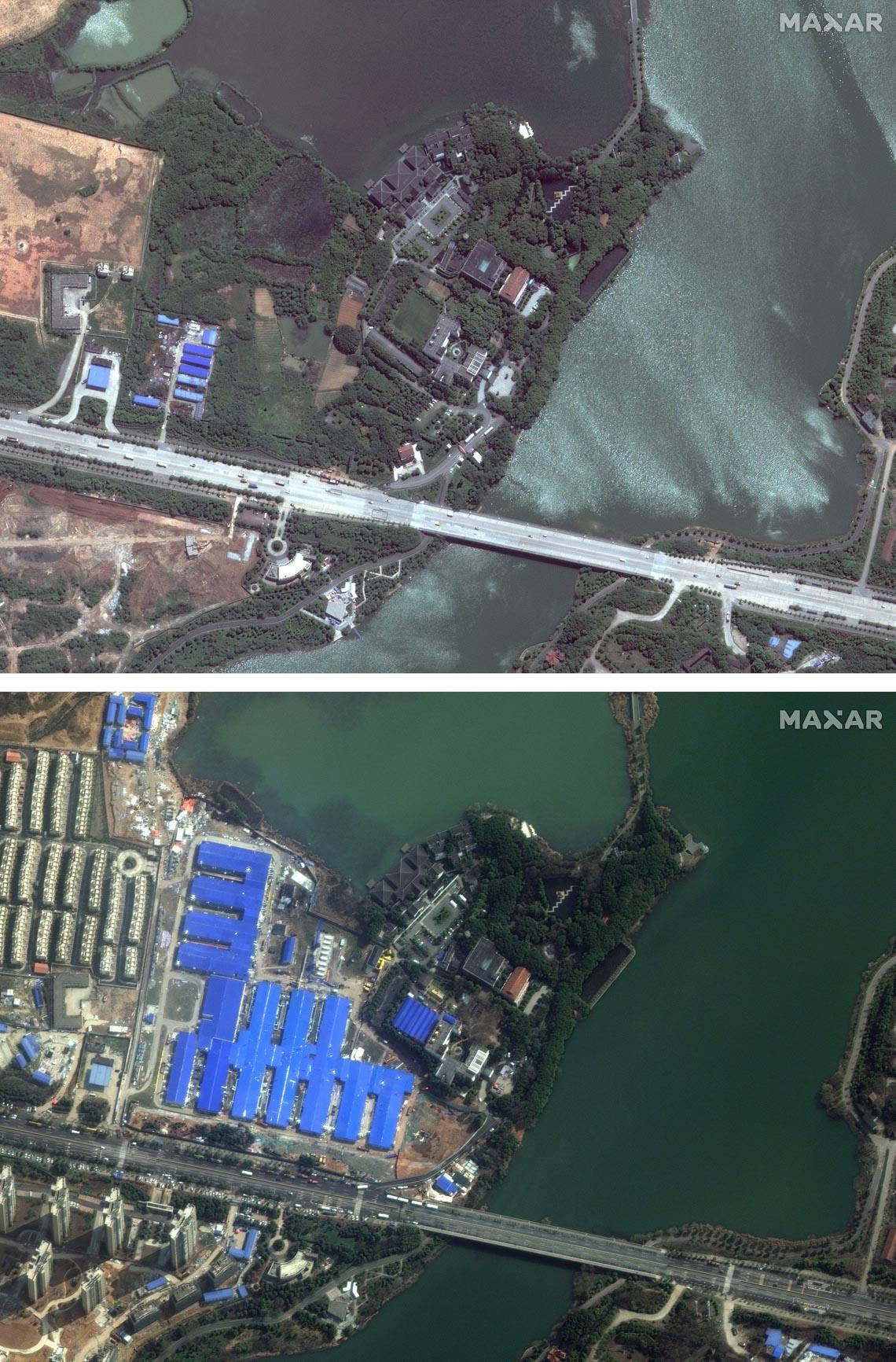 Chùm ảnh: Thế giới trước và sau cơn sóng thần COVID-19 -10