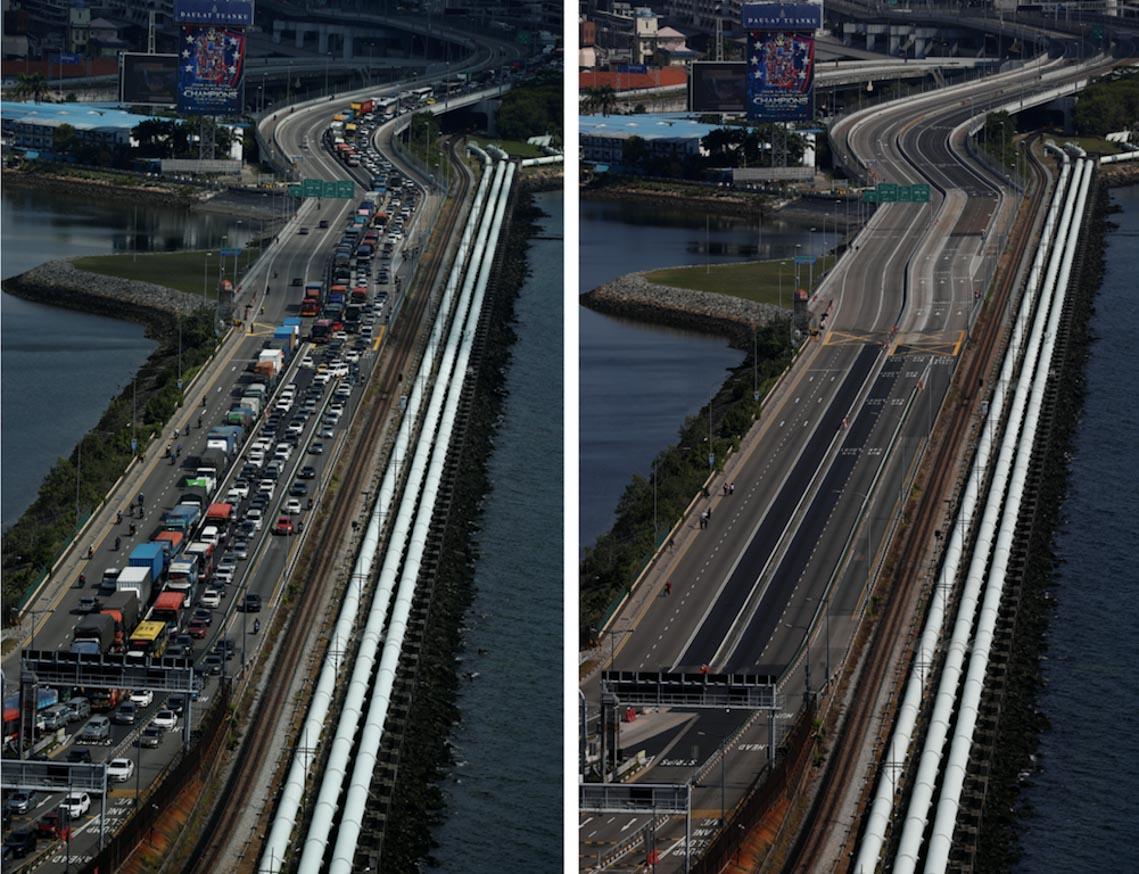 Chùm ảnh: Thế giới trước và sau cơn sóng thần COVID-19 -2