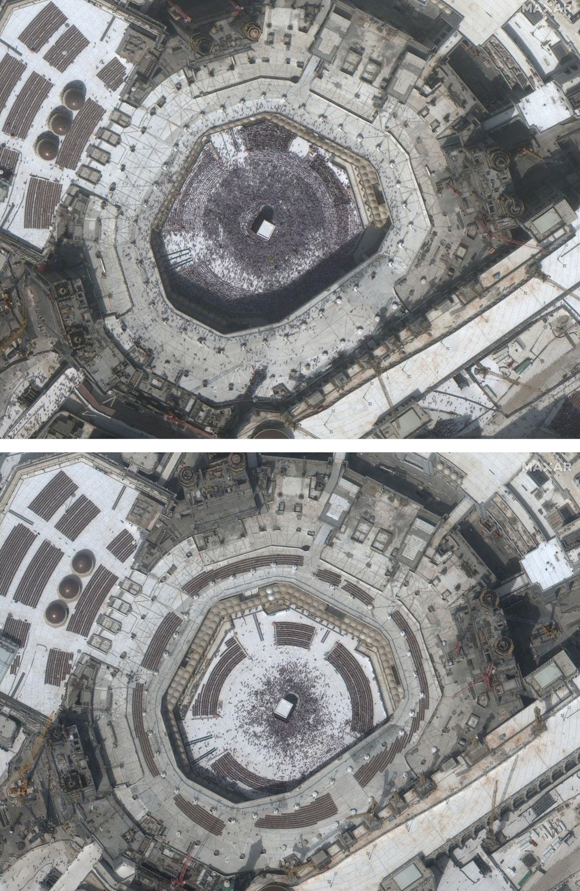 Chùm ảnh: Thế giới trước và sau cơn sóng thần COVID-19 -5