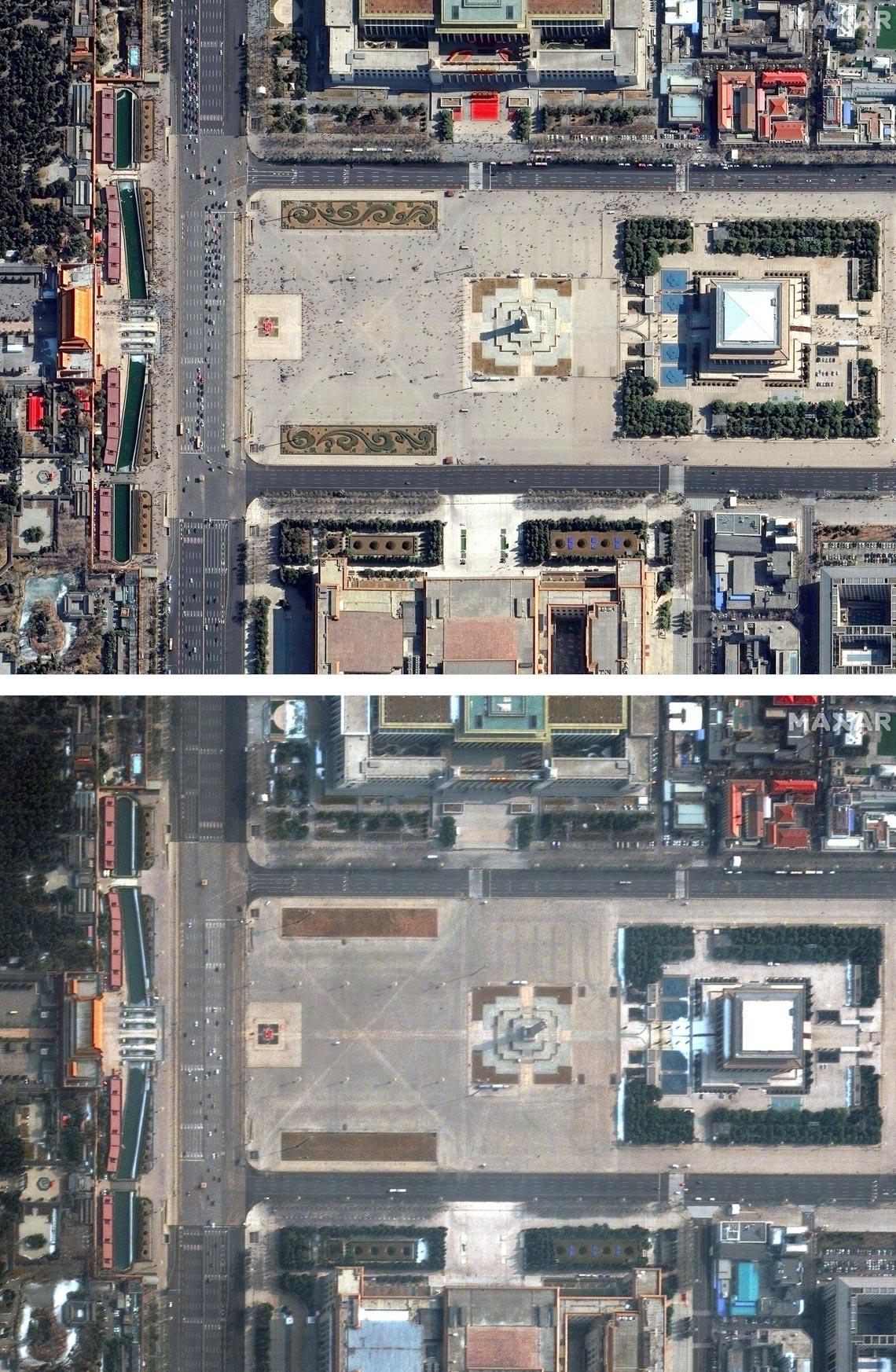 Chùm ảnh: Thế giới trước và sau cơn sóng thần COVID-19 -9