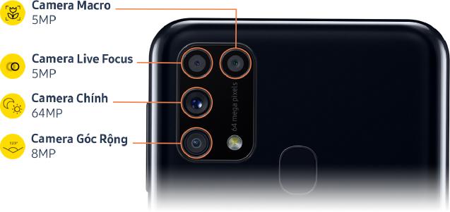 Samsung trình Làng Galaxy M31 – với bốn camera sau tốt nhất dòng Galaxy M - 5
