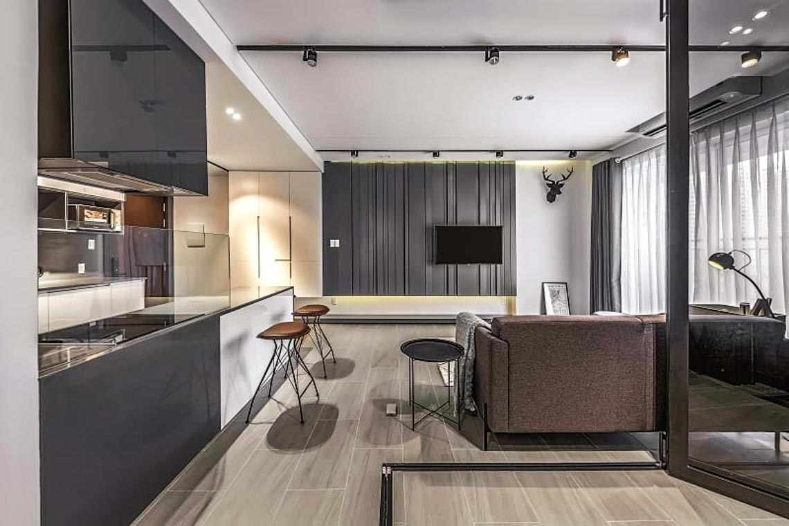 Không gian biến hóa trong căn hộ 83m2 -9