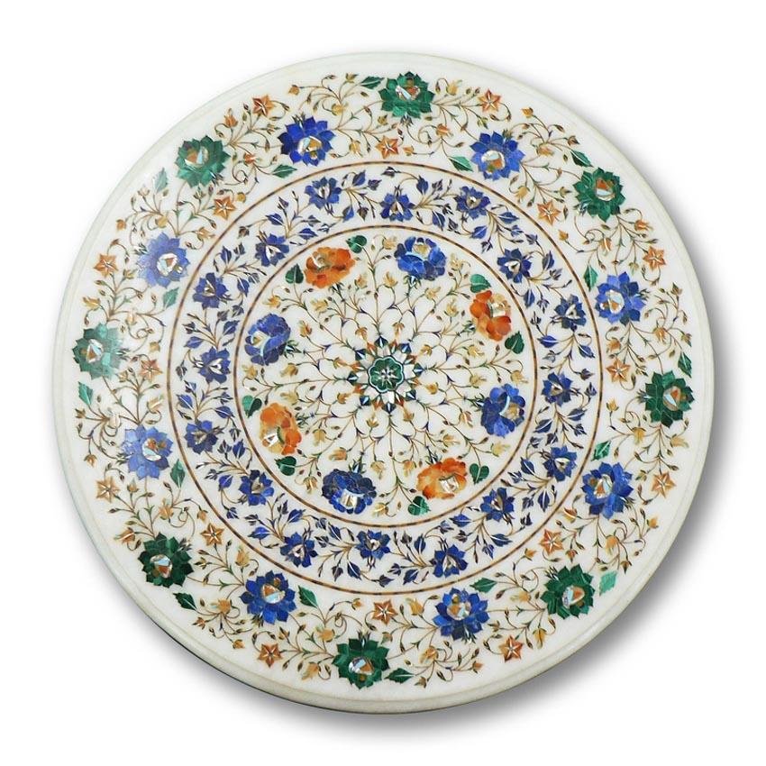 Nghệ phẩm khảm đá Pietra Dura -16