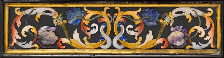 Nghệ phẩm khảm đá Pietra Dura -4
