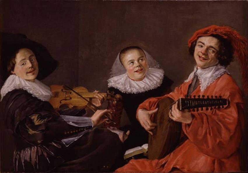 Tại sao ít thấy nụ cười trong tranh nghệ thuật xưa? -2