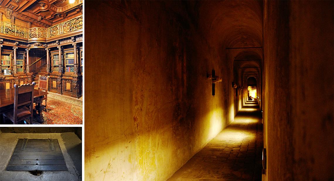Các hành lang bí mật thuận tiện để đào thoát