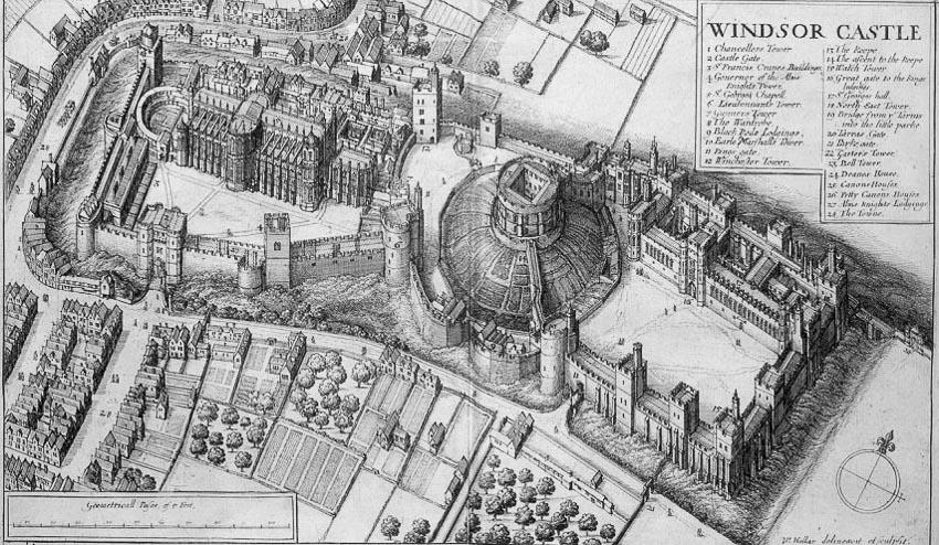 Thiết kế bí mật trong các lâu đài thời Trung cổ -5