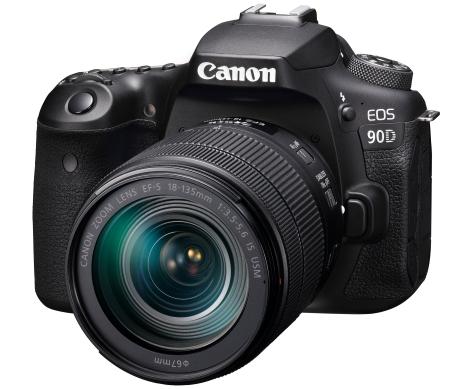 Canon đánh dấu năm thứ 17 liên tiếp  dẫn đầu thị trường máy ảnh kĩ thuật số - DSLR Camera (EOS 90D)