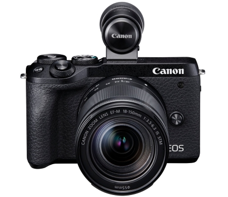 Canon đánh dấu năm thứ 17 liên tiếp  dẫn đầu thị trường máy ảnh kĩ thuật số - Mirrorless Camera (EOS M6 Mark II)