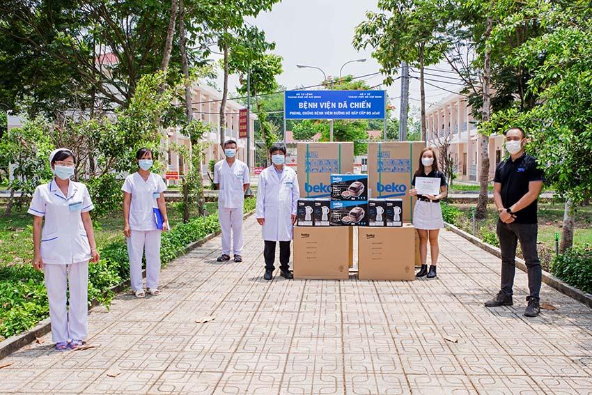 Beko việt nam trao tặng thiết bị điện tử nhằm chung tay đẩy lùi dịch covid-19 - 2