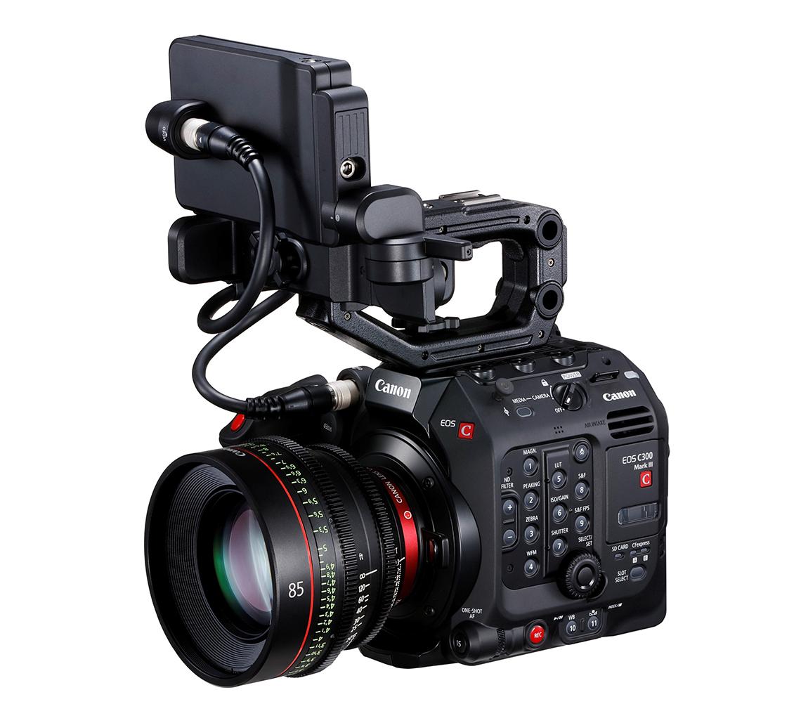 Canon ra mắt máy quay EOS C300 Mark III Cinema, cảm biến Dual Gain Output (DGO), 4K/120p - 2