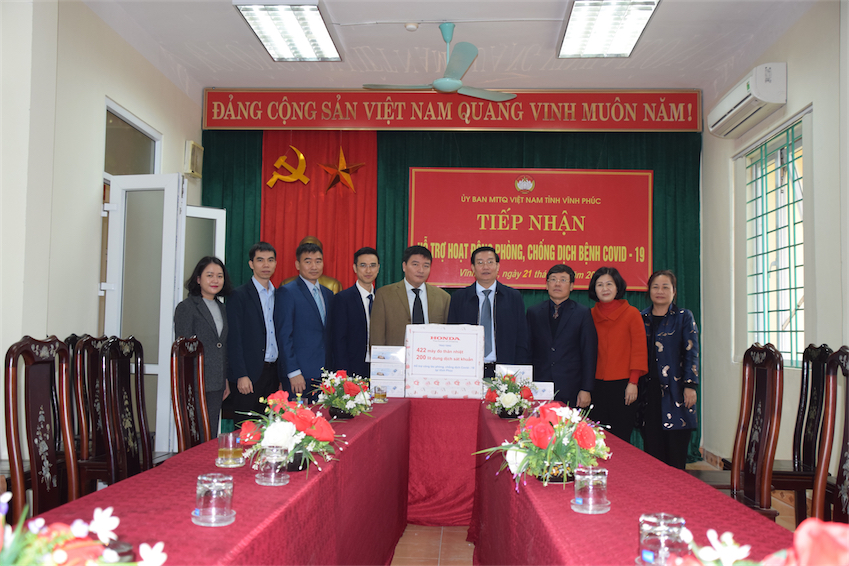 Honda Việt Nam cùng chung tay hỗ trợ đẩy lùi dịch bệnh COVID-19 tại Hà Nam - 3