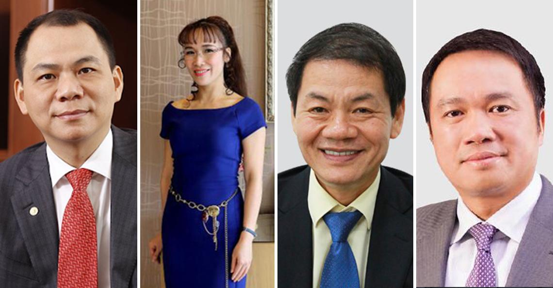 4 người Việt có mặt trong danh sách tỉ phú 2020 của tạp chí Forbes - Ảnh 1