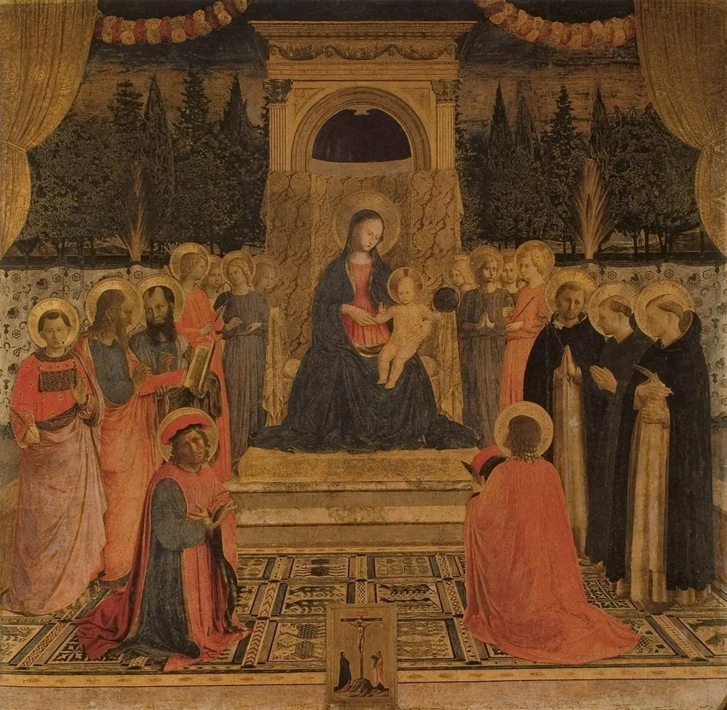 Fra Angelico, San Marco Altarpiece, 1432-35