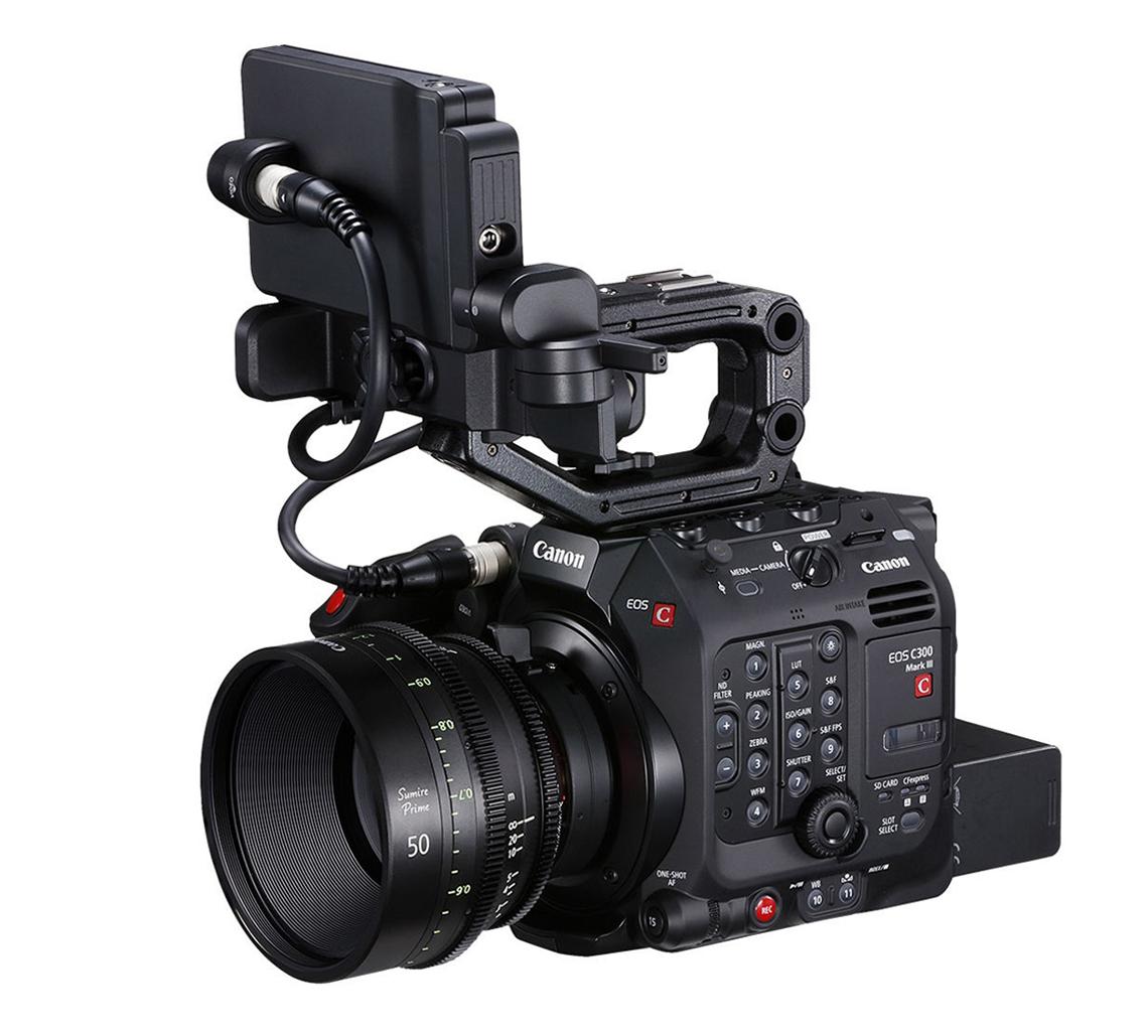 Canon ra mắt máy quay EOS C300 Mark III Cinema, cảm biến Dual Gain Output (DGO), 4K/120p - 3