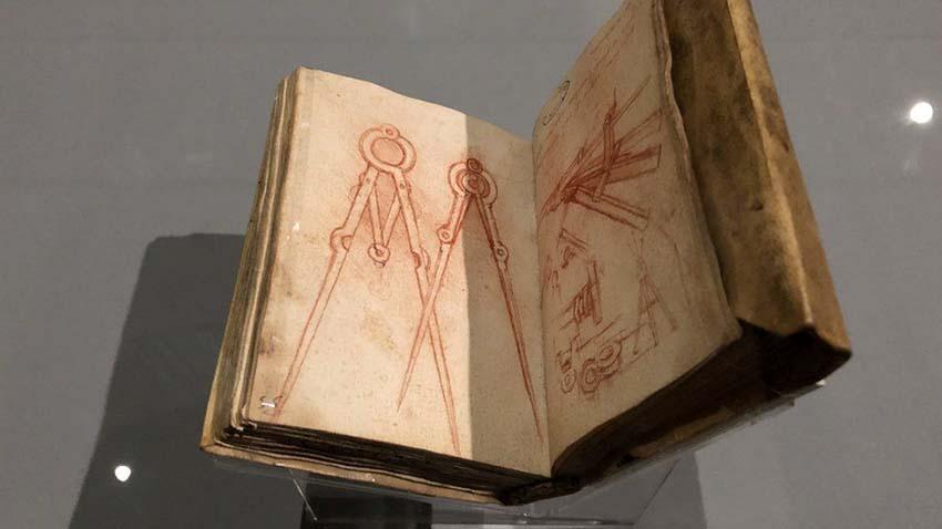 Leonardo Da Vinci và cuộc trưng bày thế kỷ -5