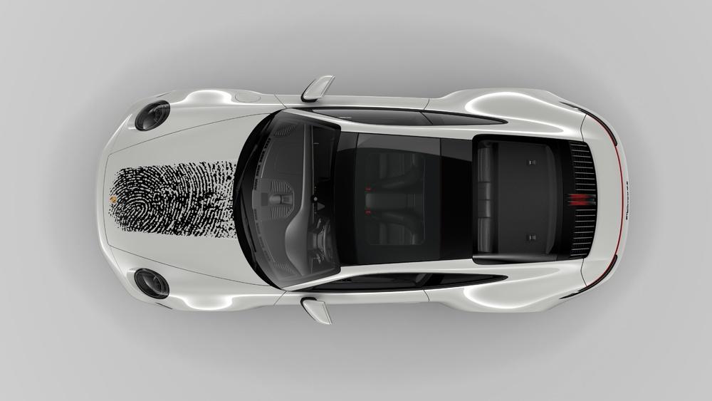Công nghệ in đột phá trên bề mặt sơn thân xe Porsche - 5